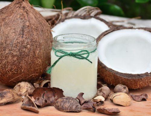 Körperpeeling mit Kokosöl